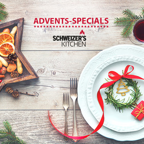 Advents-Specials aus Schweizer's Kitchen